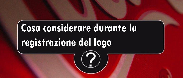 registrazione del logo