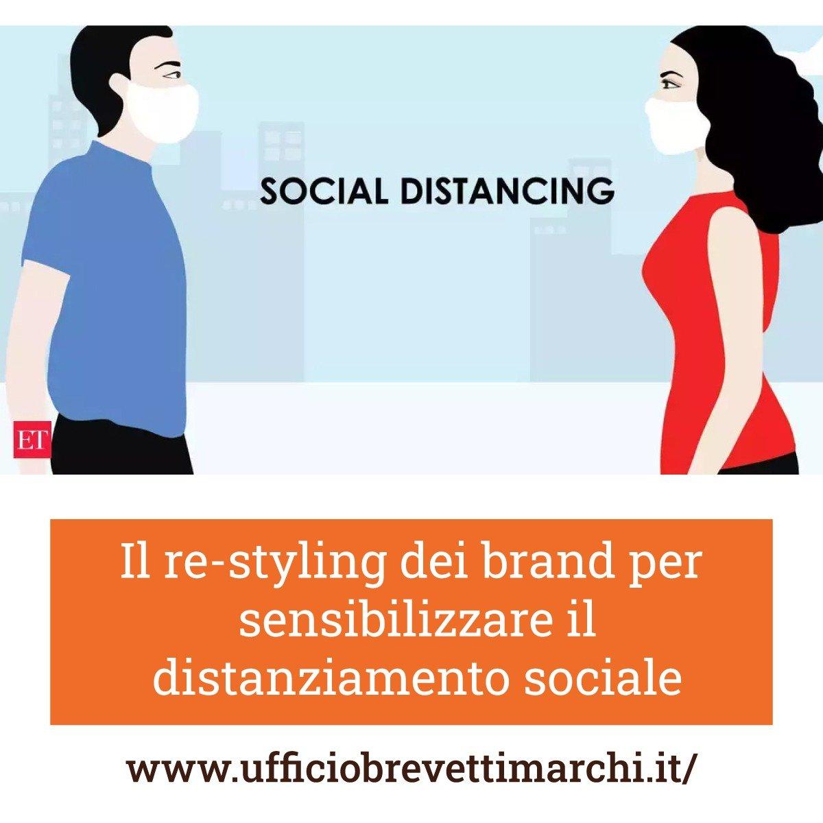 Il re-styling dei brand per sensibilizzare il distanziamento sociale