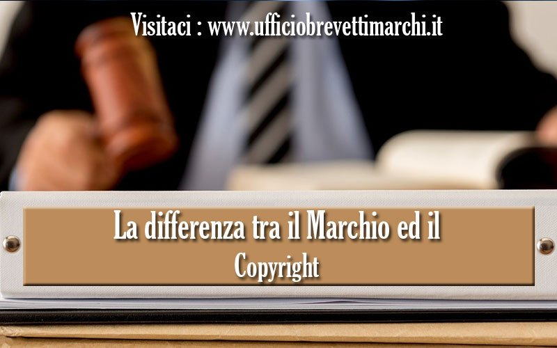 La differenza tra il Marchio ed il Copyright