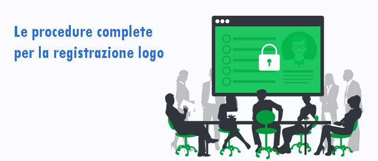 Le procedure complete per la registrazione logo