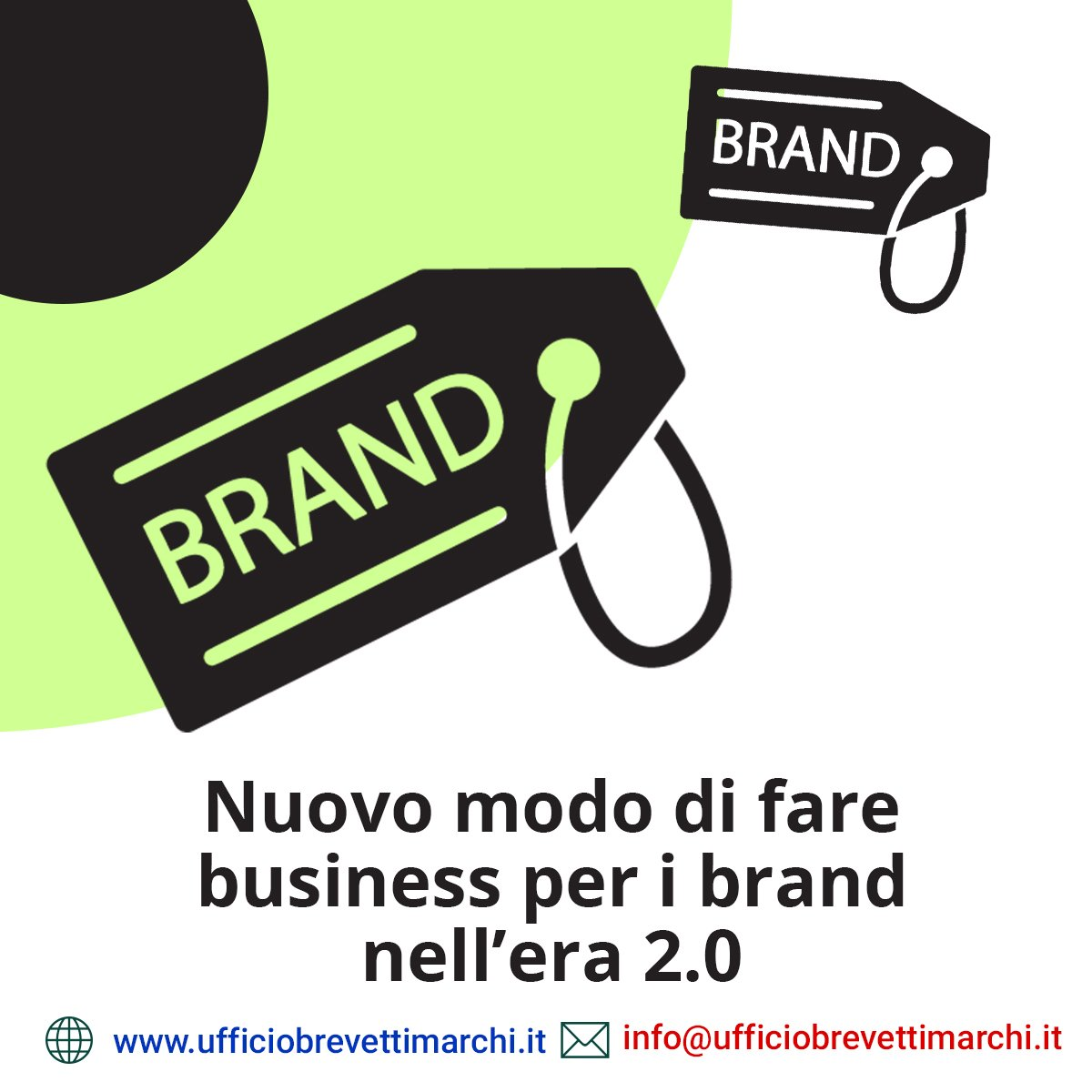 Nuovo modo di fare business per i brand nell'era 2.0