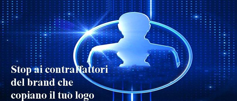 Stop ai contraffattori del brand che copiano il tuo logo