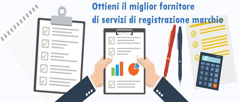 Ottieni il miglior fornitore di servizi di registrazione marchio